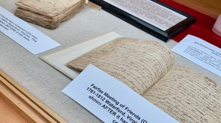 New Library Exhibit Highlights the Preservation of Loudoun County History